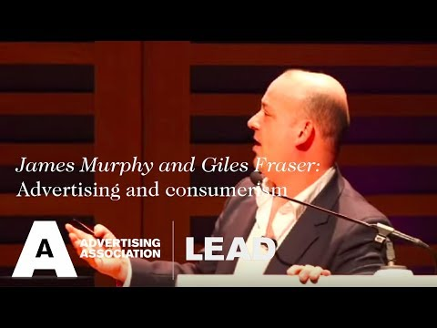 James Murphy and Giles Fraser debate advertising and consumerism