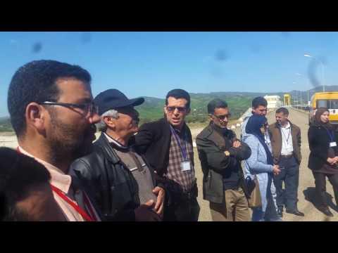 فلم تربوي عن زيارة ثانوية الحسن الثاني الإعدادية بزومي لمنشأة سد الوحدة