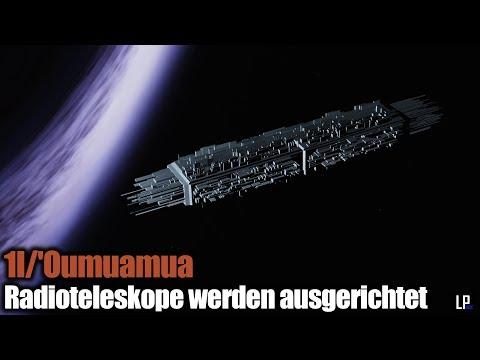 Objekt 1I/'Oumuamua - Radioteleskope werden ausgerichtet