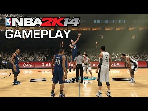NBA 2K14 PS4 Gameplay