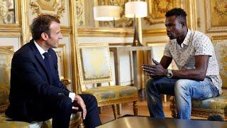 Mamoudou Gassama, le Malien ayant sauvé un enfant à Paris, va être régularisé