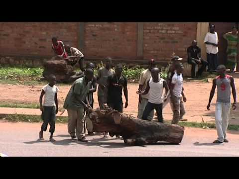 Protests in Bangui- Central African Republic