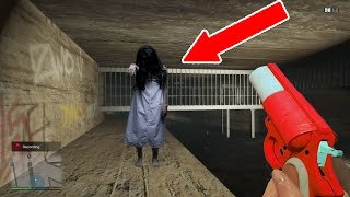 GTA 5: Lost Girl Found In The Sewers!!!!! Playing GTA 5 3:00 AM (Scary)