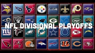 NFL Divisional Playoff Round Picks & Predictions | 2019