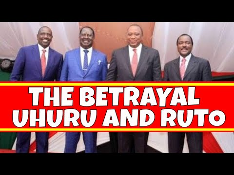 Why Uhuru Kenyatta Betrayed William Ruto for Raila Odinga - The BBI Report