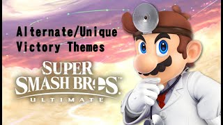 Alternate/Unique Victory Themes for Everyone in SSBU