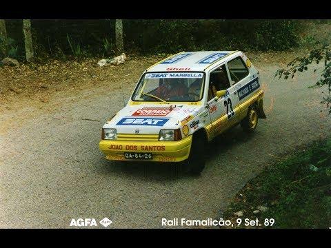 """Rallye de Vila Nova de Famalic�o 1989 - """"Rota��es"""""""