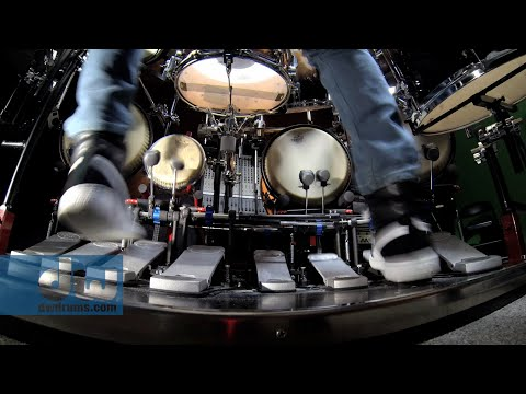Marco Iannetta plays PDP Concept Series Drums & Pedals by DW (100% GoPro)