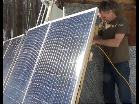 Installing More Solar Panels At The Off Grid Homestead