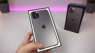 Apple iPhone 11 Pro (Spacegrau/256GB): Unboxing, Hands On & Erster Eindruck! - touchbenny
