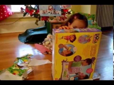 Melanie regalos de Papa Noel!!!