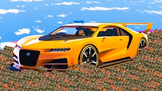 DRIVING ON BOMBS! (GTA 5 Funny Moments)