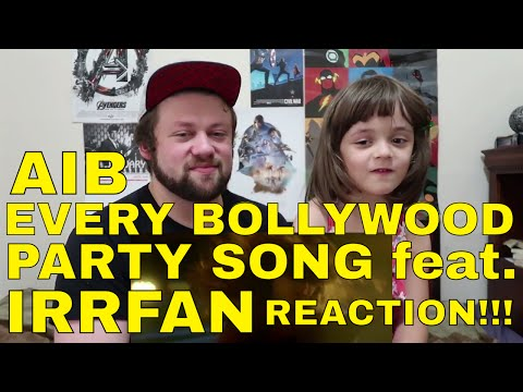 AIB : Every Bollywood Party Song feat. Irrfan SONG REACTION!!!