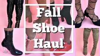 Fall Shoe Haul | Puma, Lola Shoetique, Fashion Nova, Charlotte Russe & more...