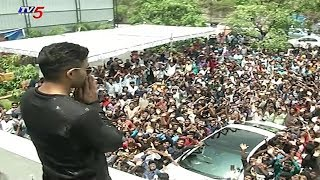 Stylish Star Allu Arjun Birthday Celebrations 2018