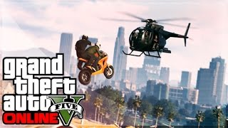 GTA 5 Online Epic RACES! Huge Ramps, Crazy Wall Rides & IMPOSSIBLE STUNTS! (GTA 5 Ps4 Gameplay)