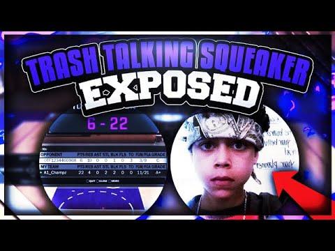 TRASH TALKING SQUEAKER GETS EXPOSED