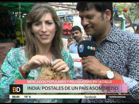 Por las calles de India -Telefe Noticias