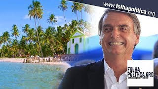 Interesse em viajar ao Brasil aumenta 36% e Bolsonaro comemora