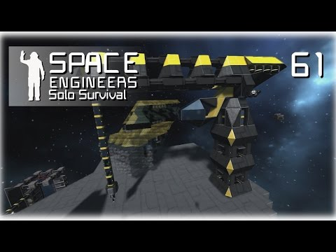 Space Engineers • Solo Survival • 61 • Xeno Crane