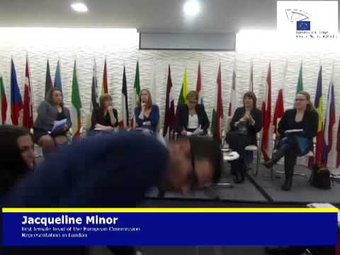 debate on what has the EU done for gender equality - Jacqueline Minor