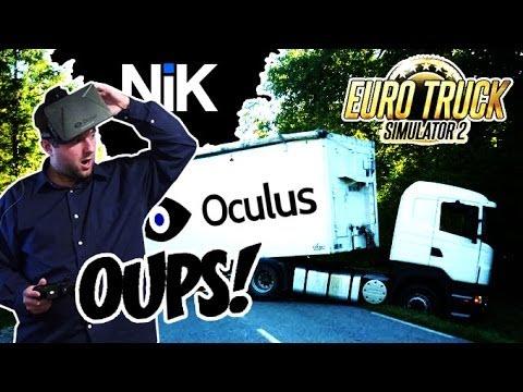 Euro Truck Simulator 2 avec l'Oculus Rift : En route pour le permis poids lourd !