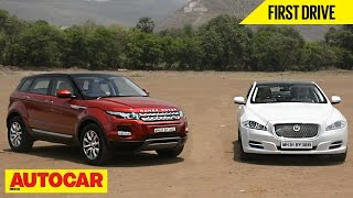 Jaguar XJ 2.0 Petrol & Range Rover Evoque | First Drive | Autocar India