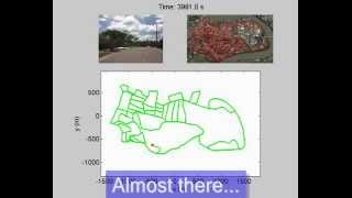 Mapping a Suburb with a Single Camera using a Biologically Inspired SLAM System