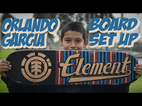 ORLANDO GARCIA BOARD SET UP AND INTERVIEW !!!