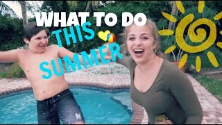 WHAT TO DO THIS SUMMER | Baby Ariel