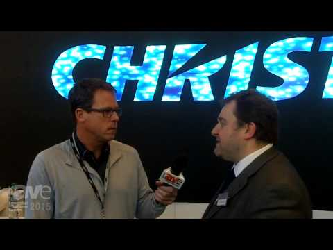 ISE 2015: Gary Kayye Interviews Brant Eckett of Christie
