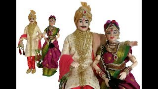 Ken doll Bride groom makeover in South Indian style