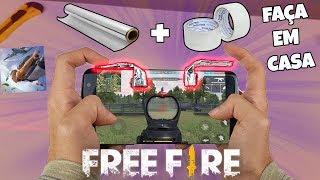 COMO FAZER GATILHOS PARA FREE FIRE EM CASA! (Muito simples)