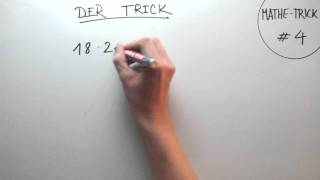 Mathe Trick #4 The One And Only