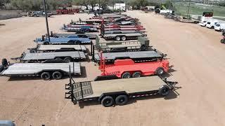 SPRING SALE Mahindra Tractor - Bad Boy Zero Turn Mower - Trailer