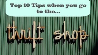 Top 10 tips for Thrifting