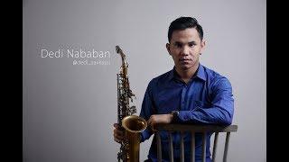 anji menunggu kamu saxophone cover