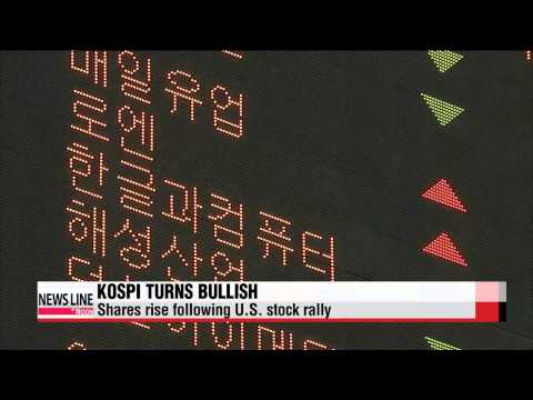 KOSPI turns bullish following U.S. stock rally, foreign investors′ pick-up   코스피