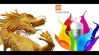 Умная лампочка Xiaomi Yeelight RGBW