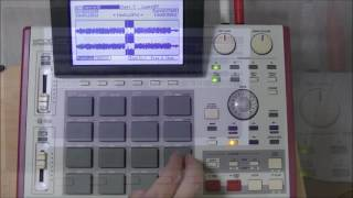 [Play & Chop] button (MPC1000 & MPC2500)