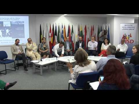 Reconnecting Europe with its Citizens - the Role of Political Foundations