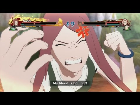 Naruto Shippuden Ultimate Ninja Storm Revolution — Kushina vs Sakura