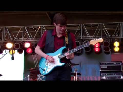 The Matthew Davidson Band   Guitar Solo  59 Twenty Festival in Meridian, MS
