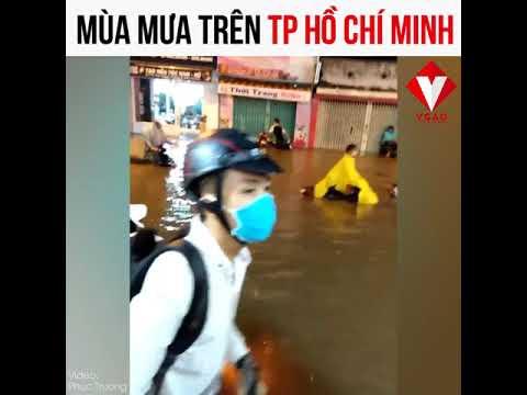 Mùa mưa lụt ở TP Hồ Chí Minh