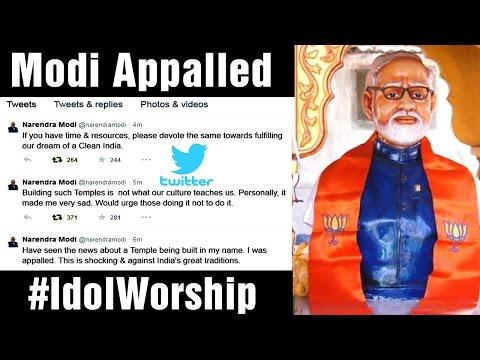 Modi Temple in Gujarat: PM Modi tweets, expresses shock - Teenmaar News (12-02-2015)