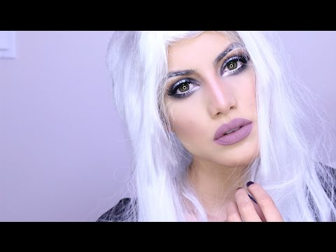 X-Men's Storm Halloween Makeup   Makeup Tutorials and Beauty Reviews   Camila Coelho