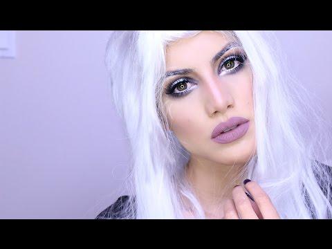 X-Men's Storm Halloween Makeup | Makeup Tutorials and Beauty Reviews | Camila Coelho