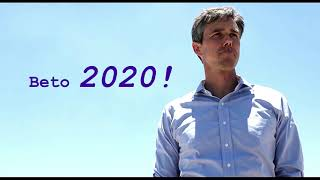 "Beto O'Rourke ""WE STAND AGAINST WALLS!!!"""