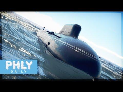 NUCLEAR SUBMARINES   Russian Yasen-Class Submarine (War Thunder Silent Thunder)