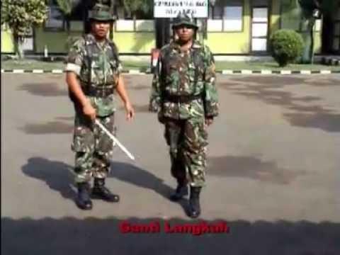GANTI LANGKAH (baris berbaris TNI)